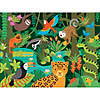 24-piece Floor Puzzle: Wild Rainforest Image Thumbnail 1