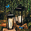 Black Metal Lanterns Image Thumbnail 1