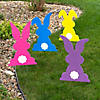 Bright Bunny Yard Stakes