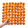 Bulk Squishy Water Beads Pumpkin Balls - 72 Pc.