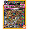 Color by Number Color Counts: Animals Image Thumbnail 1