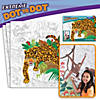 Extreme Dot to Dot 7-Poster Set: Rainforest Animals Image Thumbnail 1
