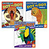 Extreme Dot to Dot Animals: Set of 3