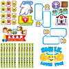 Faith Emoji Bulletin Board Set Image Thumbnail 1