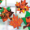 Fall Leaf Suncatchers Image Thumbnail 2