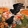 Feathered Crows Halloween Decorations