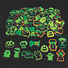 Glow-in-the-Dark Halloween Self-Adhesive Shapes Image Thumbnail 1