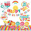 Happy Day Party Tableware Kit for 16 Guests Image Thumbnail 1