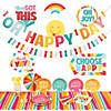 Happy Day Party Tableware Kit for 8 Guests Image Thumbnail 1