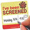 I've Been Screened Stickers Image Thumbnail 1