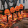 Jack-O'-Lantern Path Marker Party Lights Halloween Decoration Image Thumbnail 1