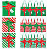 Large Wrapped Christmas Present Tote Bags Image Thumbnail 1