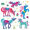 Magical Unicorns Reusable Sticker Tote Image Thumbnail 2