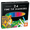 MindWare's Fine Tip Markers: Set of 24 Image Thumbnail 1