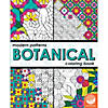 Modern Patterns Botanical Coloring Book Image Thumbnail 1