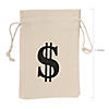 Money Burlap Drawstring Bags Image Thumbnail 1
