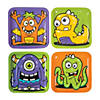 Monster Party Paper Dinner Plates - 8 Ct.