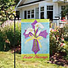 "Northlight Easter Blessings Cross and Lilies Outdoor Garden Flag 12.5"" x 18"" Image Thumbnail 2"