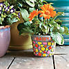 Paint Your Own Stone: ‭Mosaic Flower Pot Image Thumbnail 1