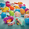 Pastel Printed Candy-Filled Plastic Easter Eggs - 24 Pc. Image Thumbnail 1