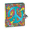 Peace Sign Black Page Diary Image Thumbnail 1