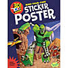 Robot Space Invasion-3D Poster Sticker Acitivity Book Image Thumbnail 1