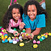 Toy-Filled Plastic Easter Eggs - 24 Pc. Image Thumbnail 1