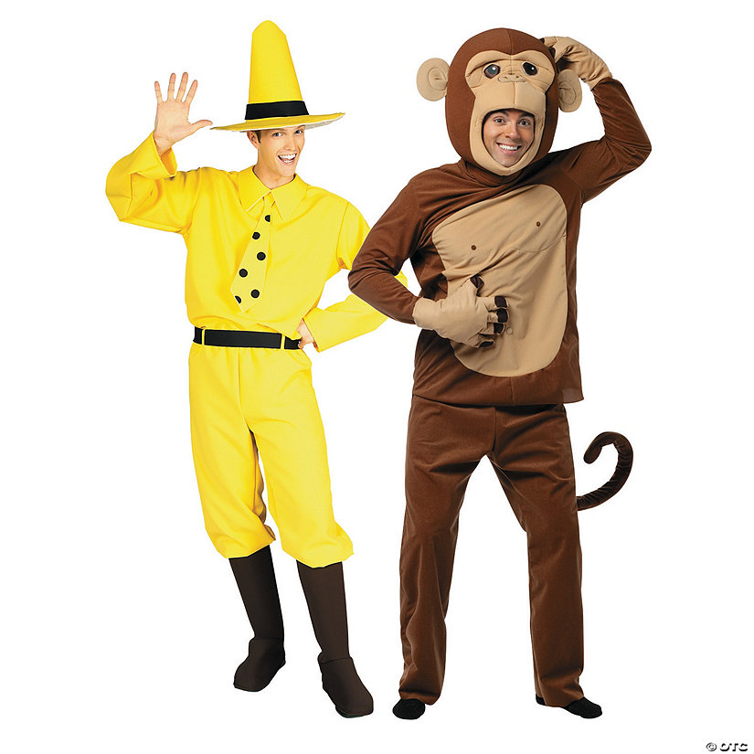 CURIOUS GEORGE COSTUME Adult or Youth Dance Halloween