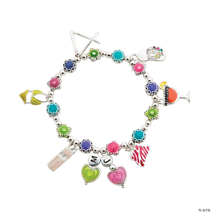 Bright Girlfriend Charm Bracelet Idea Image Thumbnail