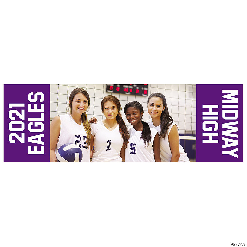 Custom Photo Medium Horizontal Spirit Banner with Sides Image Thumbnail