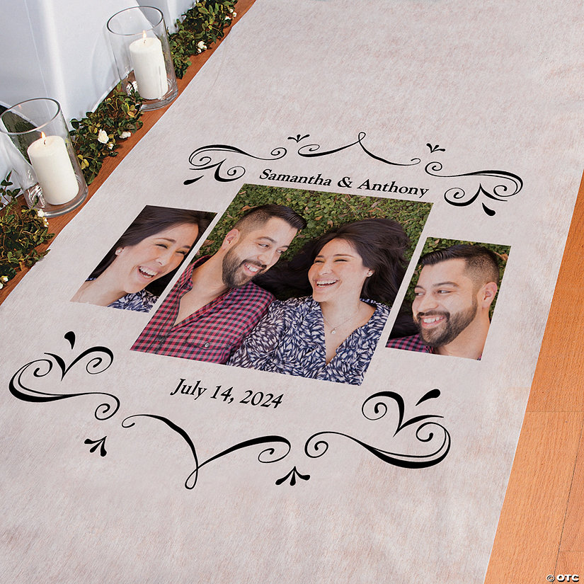 Custom Photo Multi-Image Aisle Runner Image Thumbnail