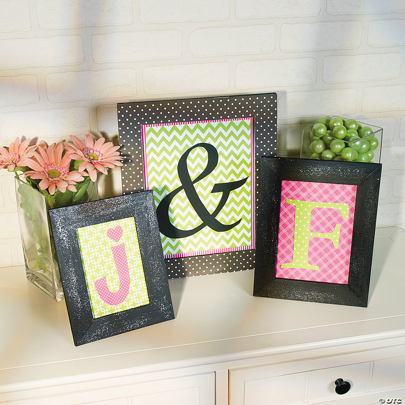 DIY Monogram Frames Idea Image Thumbnail