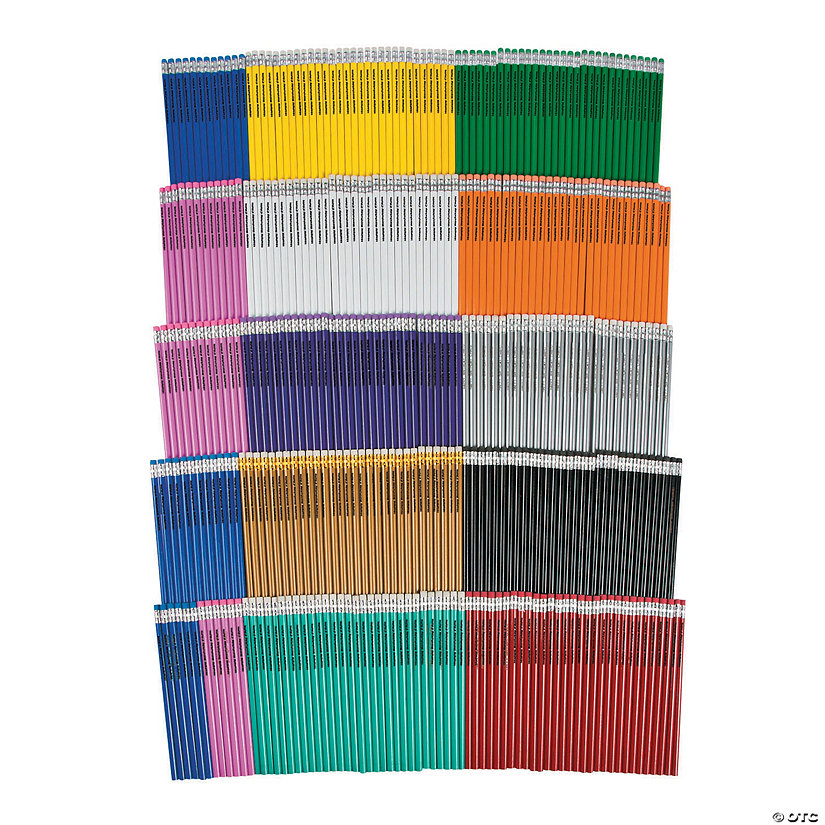 Gigantic Personalized Pencil Assortment - 288 Pc. Image Thumbnail