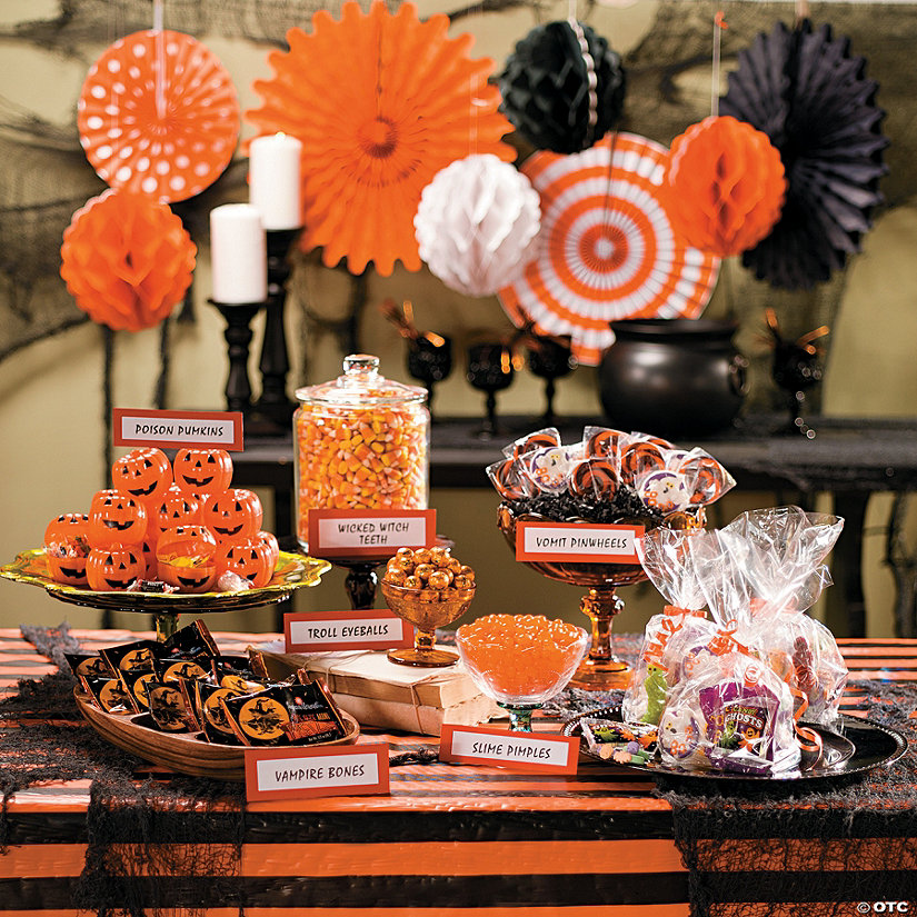 Halloween Candy Buffet Idea Oriental Trading