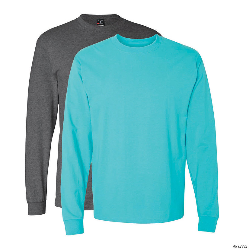 Hanes® Beefy Tee Long Sleeve T-Shirt