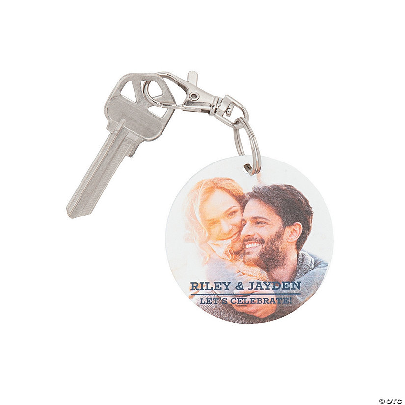 Personalized Classic Photo Keychains Image Thumbnail