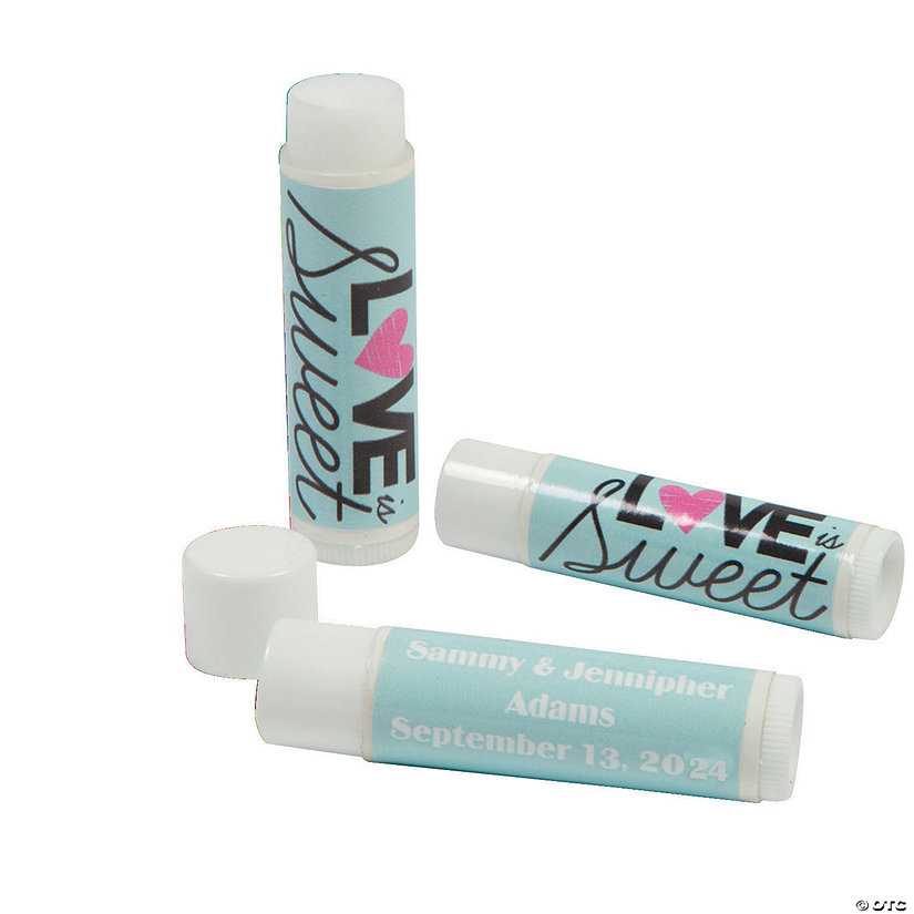 Personalized Love Is Sweet Lip Covers Image Thumbnail