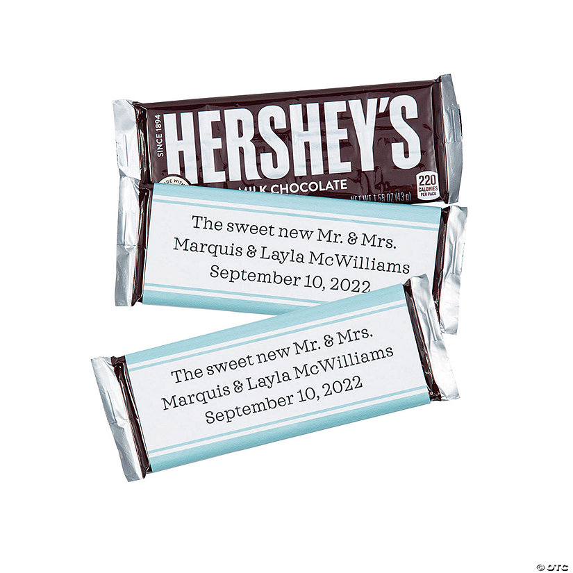 Personalized Simple Candy Bar Labels Image Thumbnail