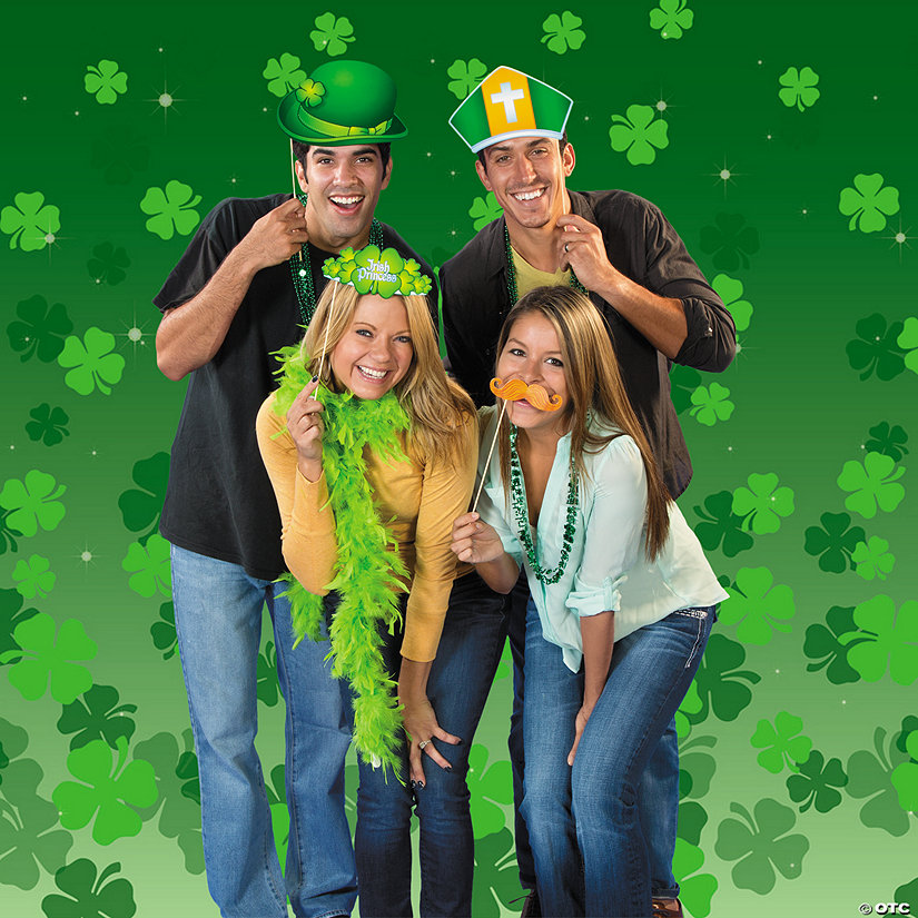 St. Patrick's Day Photo Booth Idea Image Thumbnail