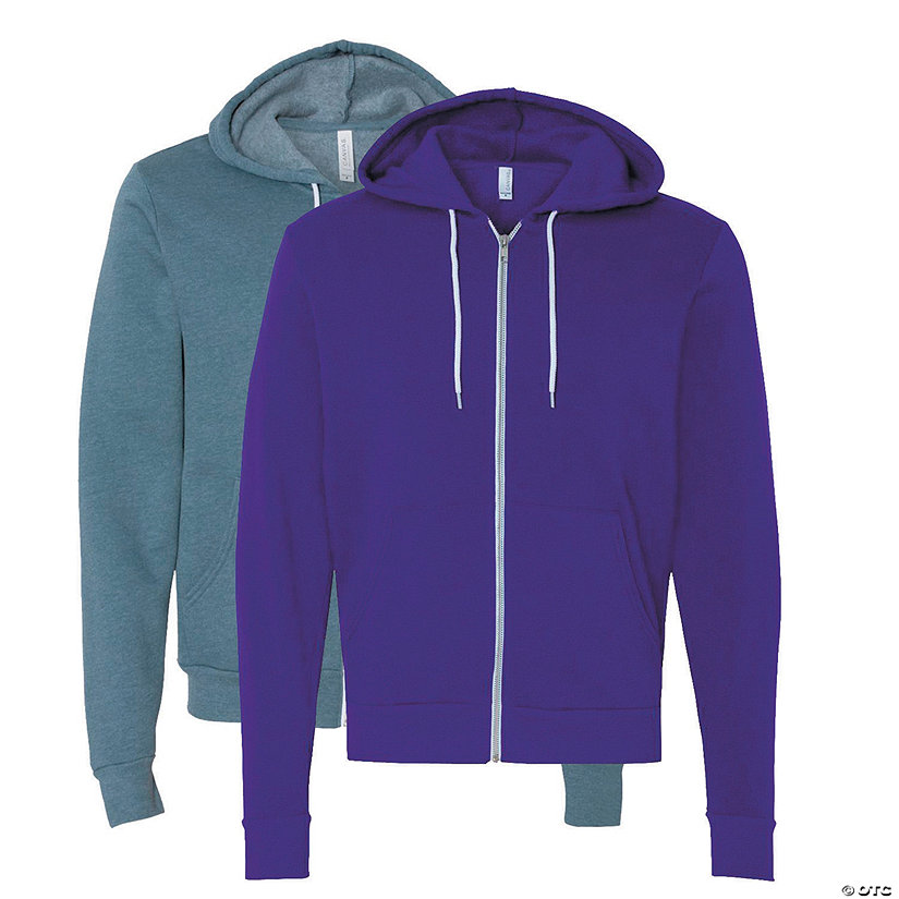 Unisex Full-Zip Hooded Sweatshirt by Bella + Canvas