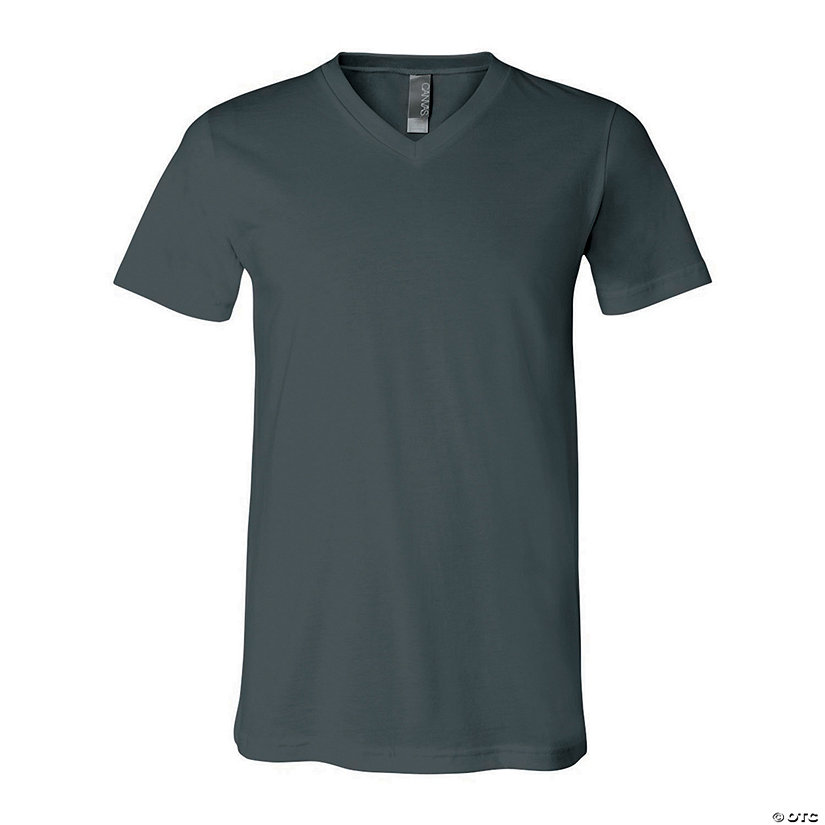 Unisex Short Sleeve V-Neck T-Shirt by Bella + Canvas Image Thumbnail