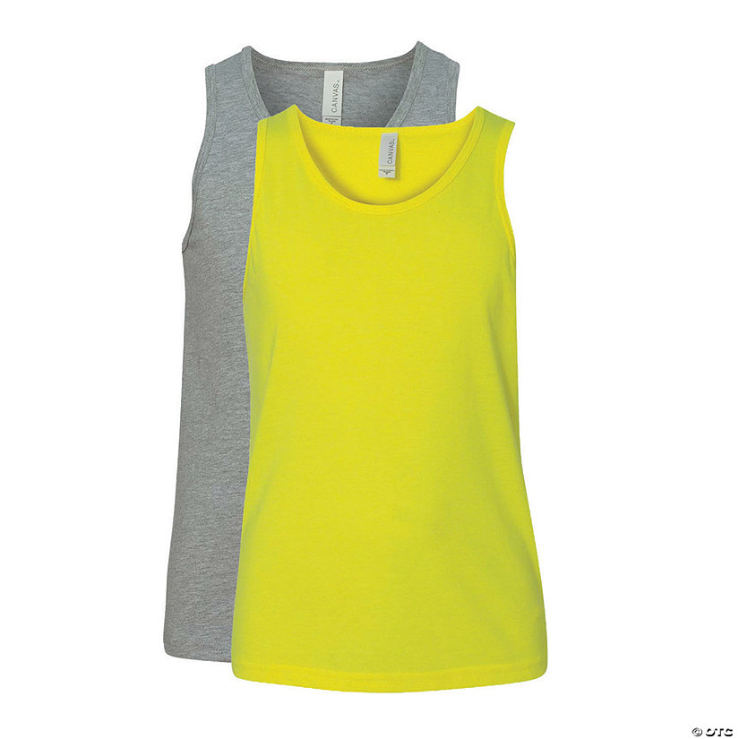 Youth Short Sleeve Jersey Tank by Bella + Canvas