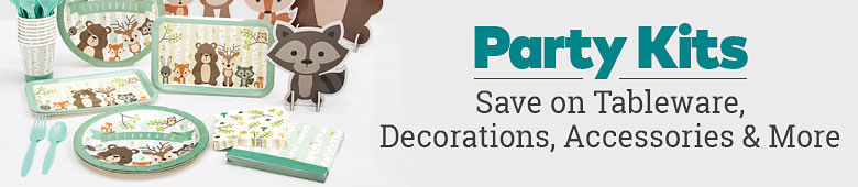 Party Kits. Save on tableware, decorations, accessories & more.