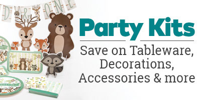 Party Kits - Save on Tableware, Decorations, Accessories and More