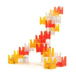 Q-BA-MAZE Warm Colors - Iowa Marble Run