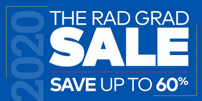 The Rad Grad Sale. Save up to 60%