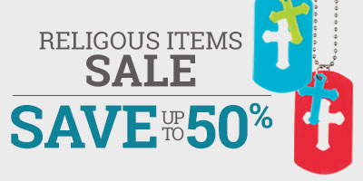 Religious Items Sale - Save up to 50%