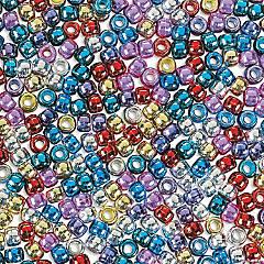 1 lb. Shiny Pony Beads