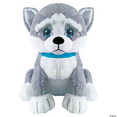 "10.5"" Aika Stuffed Huskies"