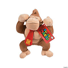 "10.5"" Plush Standing Nintendo® Donkey Kong"